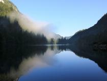 18.Ranní probuzení u jezera Gosaulaoke (Rakousko)