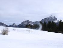 Pohled na Velký Rozsutec (1610 m n.m.) a Malý Rozsutec (1344 m n.m.)