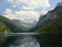 25.U jezera Gosausee (Rakousko)