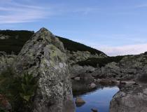 4.Jezírko ve Furkotské dolině (Slovensko)