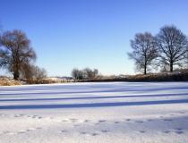 57.Zima u rybníka