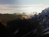 Pohled do údolí v okolí Dachsteinu (Rakousko)