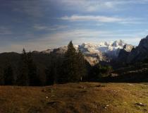 S pohledem na Dachstein (Rakousko)
